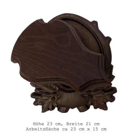 Rzeźbiona deska pod czaszkę rogacza RK-02M (1)