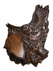 Trójelementowa rzeźbiona podkładka pod drapieżnika #001 (1)