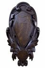 Rzeźbiona deska pod czaszkę rogacza RK-03M (2)