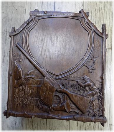 Rzeźbiona podkładka pod trofeum #006 (1)